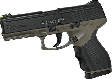 Страйкбольный пистолет ASG Sport 106 DT, пружинный (артикул 18913)