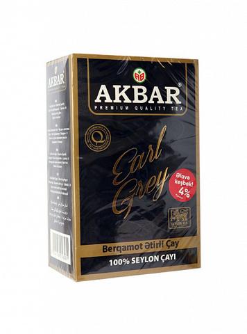 Çay \ Чай \ Tea Akbar Earl Grey qara çay 500 q