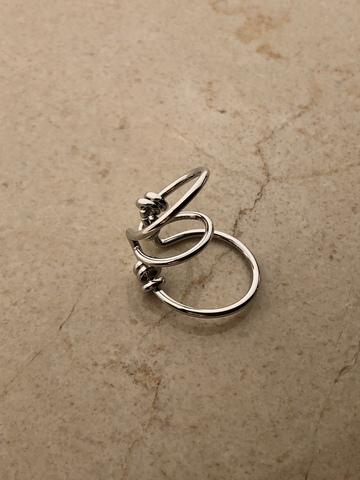 Кафф Борденер, серебряный цвет