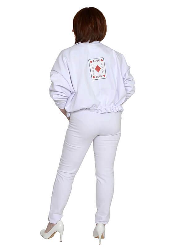 Укороченный джинсовый жакет Стелла
