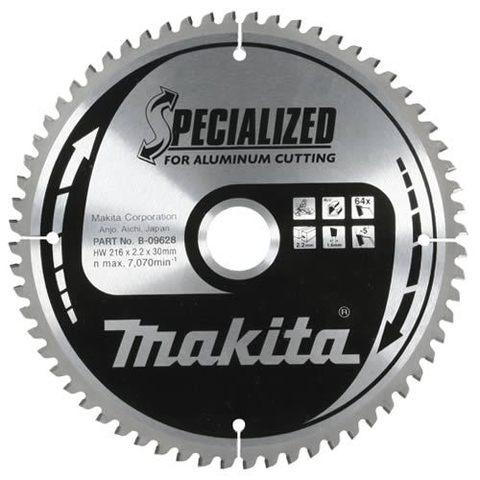 Диск по алюминию Makita 260*30*2,4 мм /80, –5°, TCG