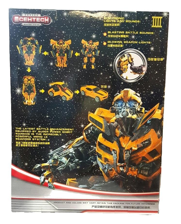 Бамблби игрушка Трансформер большой со звуком — Transformers