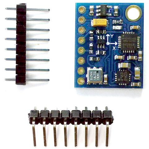 10-осевой сенсорный модуль GY-87 (MPU6050+HMC5883L+BMP180)