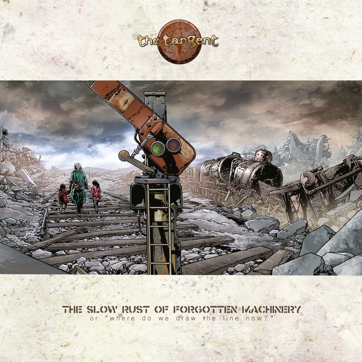 TANGENT, THE: The Slow Rust Of Forgotten Machinery