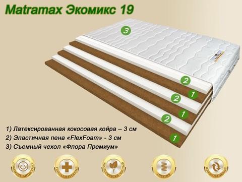 Матрас Матрамакс Экомикс 19 купить в Москве от Megapolis-matras.ru