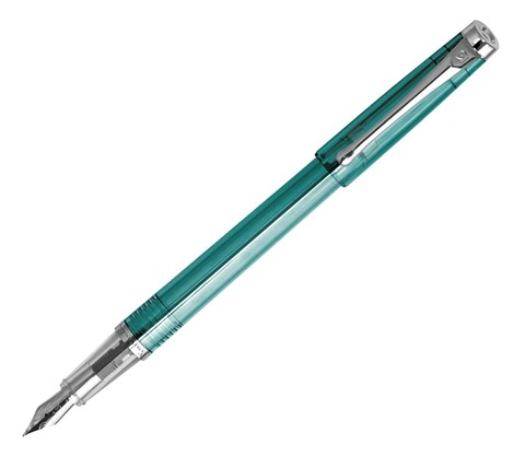 Pierre Cardin I-share - Turquoise/Transparent, перьевая ручка, M