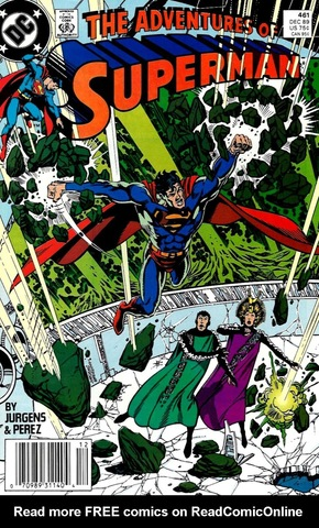 The Adventures of Superman #461