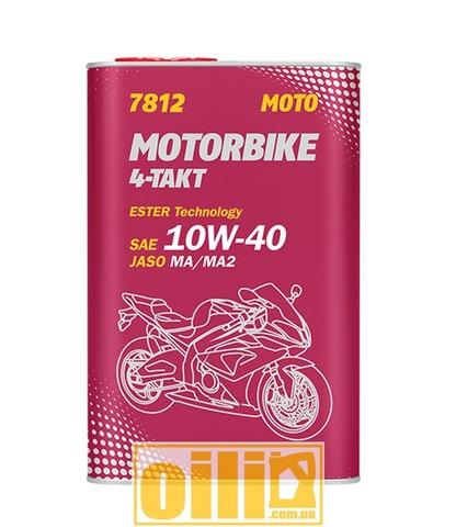 Mannol 7812 MOTORBIKE 4-TAKT API SL 1л