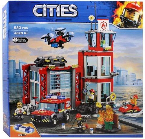 Конструктор Cities 11215 Пожарное депо