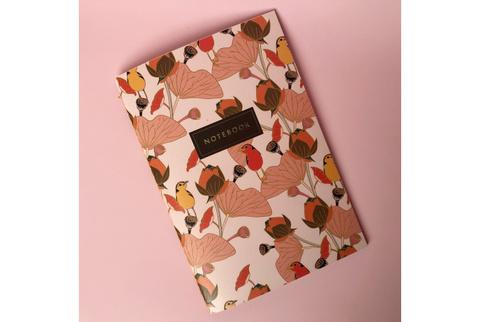 Тетрадь «Flower Bird»
