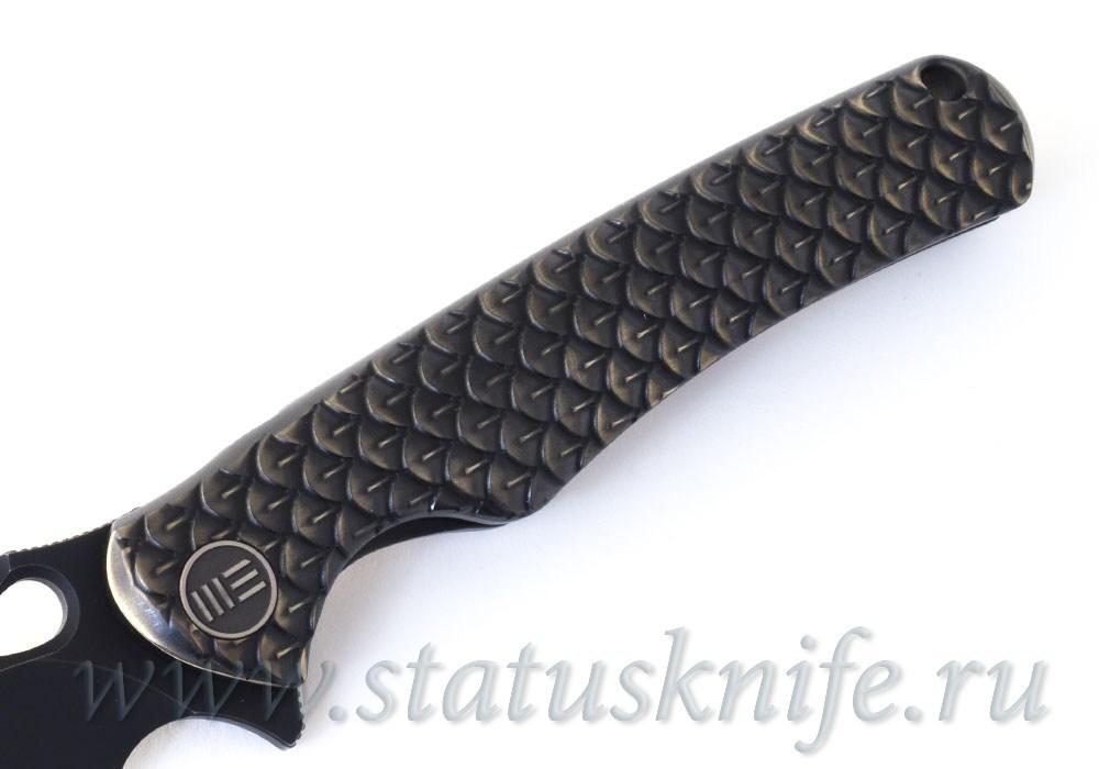 Нож We Knife 819B Drakon M390 Bronze - фотография