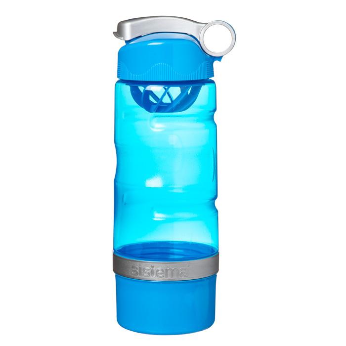 "Бутылка для воды Sistema ""Hydrate"" 615 мл, цвет Синий"