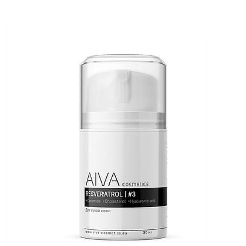 AIVA Восстанавливающий крем с ресвератролом №3, 30 мл
