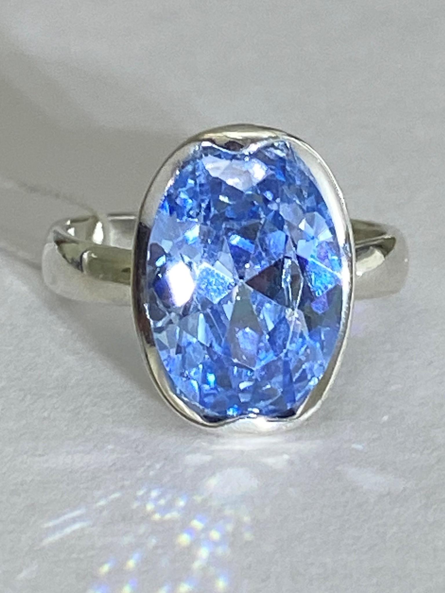 Алекса (кольцо из серебра)