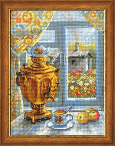 Набор для вышивания крестом «Самовар» (1145)