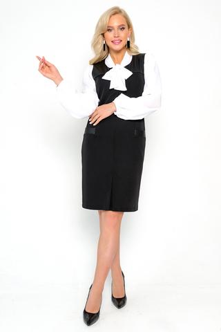 <p><span>Строгость, комфорт и лёгкость-главные качества сарафана от ELZA. Он отлично подойдёт для девушек, которые устали от классических юбок и брюк. Классический сарафан станет отличным решением для создания повседневного делового образа. В нём можно пойти в офис, прогуляться после работы или встретиться с бизнес партнёрами. Мягкая и лёгкая ткань по качеству опережает всех конкурентов. Сарафан полостью облегает тело, тем самым помогает подчеркнуть изысканные женские формы. Он отлично сочетается с блузками и светлыми водолазками. Такая покупка прослужит Вам несколько лет. Длина сарафана 95см. В нём предусмотрены многофункциональные карманы, в которые можно положить телефон или документы. Замок расположен на талии и не доставляет проблем при расстёгивании. Сарафан выполнен на 92% из полиэстера и на 8% из эластана.Хорошо сидит на девушках любого возраста и роста. Стильный овальный вырез заканчивается незаметной молнией. Заказывайте сарафан по выгодной цене прямо сейчас и не упустите скидку.&nbsp;</span>Длина изделия во всех размерах 95см.</p>