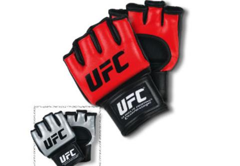 Перчатки UFC полиуретан (бои без правил), размеры XXL Арт.143421