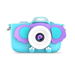 Фотоаппарат детский с вспышкой SmileZoom Слон 24 Мп