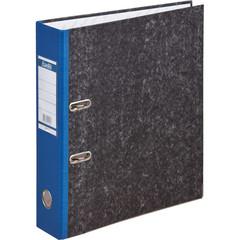 Папка-регистратор Bantex 70 мм мрамор синяя