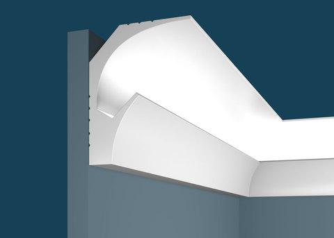 Карниз потолочный Ecopolimer, 115x90 мм