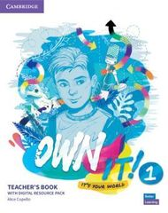 Own it! 1 Teacher's Book with Digital Resource ...