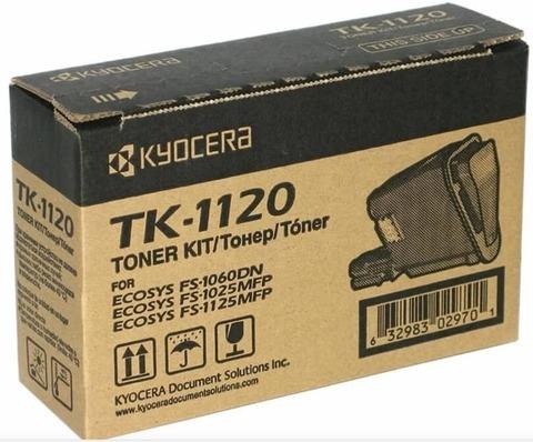 Оригинальный картридж Kyocera TK-1120 (1T02M70NXV/1T02M70NX0) черный