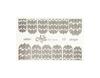 Фольга для дизайна ногтей цвет серебро 13 купить за 120руб