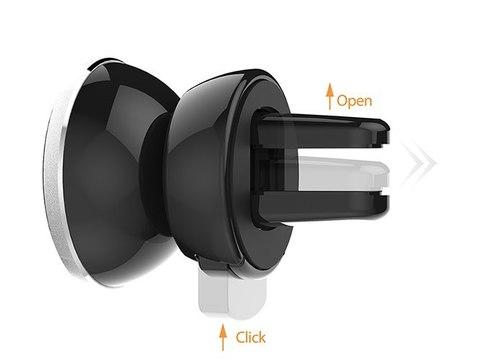 Автомобильный магнитный держатель в воздуховод IOttie ITap Magnetic Vent Mount (HLCRIO151) (007253)