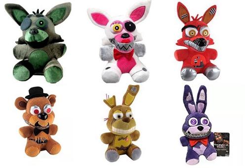 Набор мягких игрушек из пять ночей с Фредди кошмарных