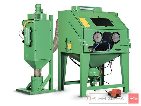 Пескоструйная камера промышленная напорная ECO-140PL