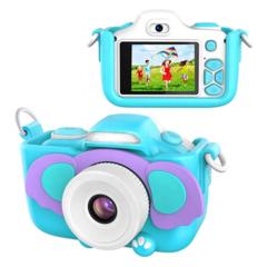 Фотоаппарат детский с вспышкой SmileZoom Слон 24 Мп дисплей