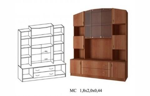 Макарена-3 ЛДСП МС-1.8 Средняя секция