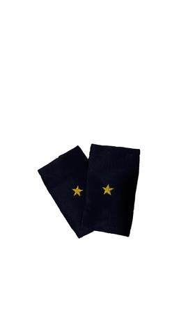 Фальшпогоны синие вышитые мл. лейтенант (ГИБДД)