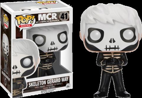 Фигурка Funko Pop! Rocks: My Chemical Romance - Skeleton Gerard Way (Excl. to Hot Topic)