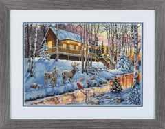 DIMENSIONS Winter Cabin (Зимняя хижина)