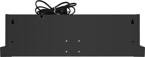 Вытяжка встраиваемая Maunfeld VS Light 50 черный управление: кулисные переключатели (1 мотор)