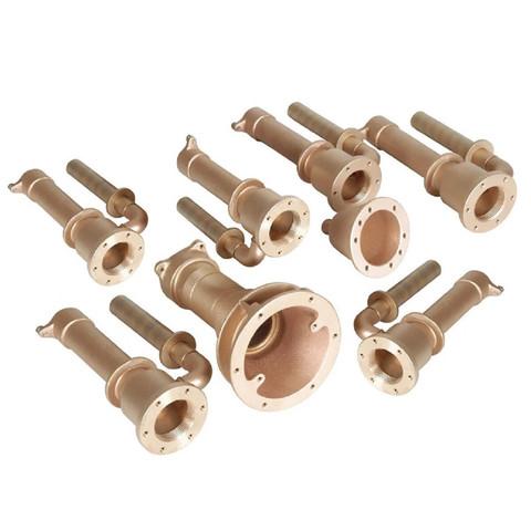 Проходы стеновые Fitstar 8696250 для Standard , 6 форсунки, 1 водозабор, 1 невмокнопка, 240 мм / 24306