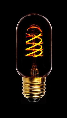 Светодиодная ретро лампа T45 Spiral SF-8 LED 5W E27