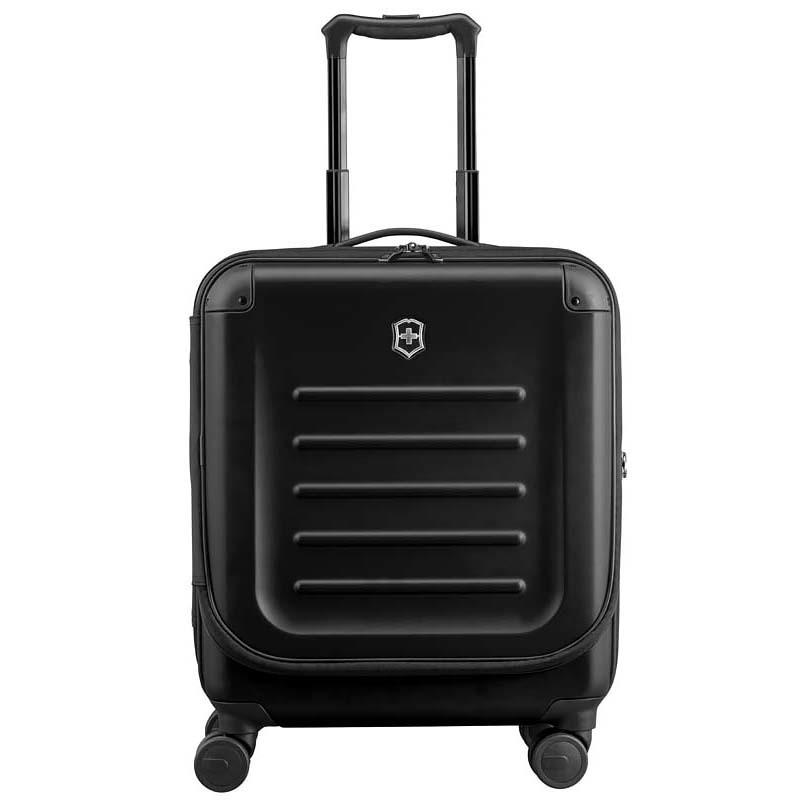 Чемодан для ручной клади Victorinox Spectra Dual-Access 2.0, цвет черный, 55х42x25 см., 37 л. (31318101) | Wenger-Victorinox.Ru