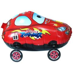 Ходячий шар Гоночная машина красная