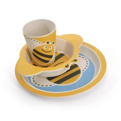 Обеденный набор 3 пр. Пчелка (бамбуковое волокно)