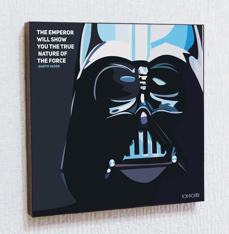 Картина постер Дарт Вейдер 2 в стиле ПОП-АРТ