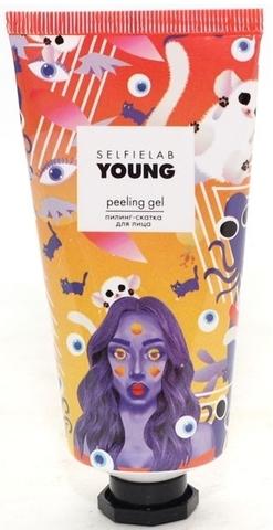 SelfieLab YOUNG Пилинг-скатка для лица с экстрактами ананаса, клубники и лимона  50мл