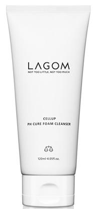 LAGOM Cellup Ph Cure Foam Cleanser очищающая пенка для умывания 120мл
