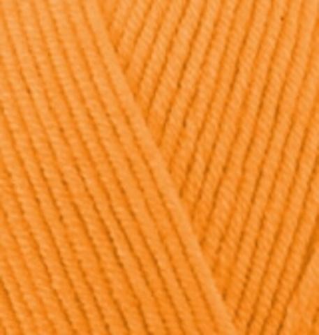 Пряжа Cotton gold (Alize) 83 Тыква, фото