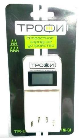Зарядное устройство Трофи TR-803 LCD 1/6/24