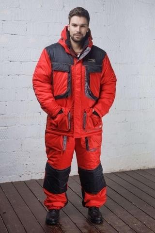 Костюм зимний Граф Рона -45°C (Мембрана таслан бордо) TAYGERR Тайгер