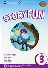 Storyfun for Movers 2nd Edition 3 Teacher's Book with Audio