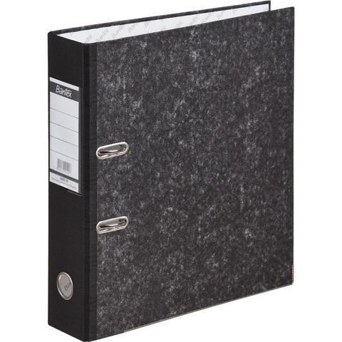 Папка-регистратор Bantex 70 мм мрамор черная