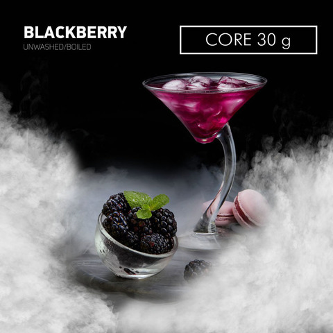 Табак Dark Side Core Blackberry (Ежевика) 30 г
